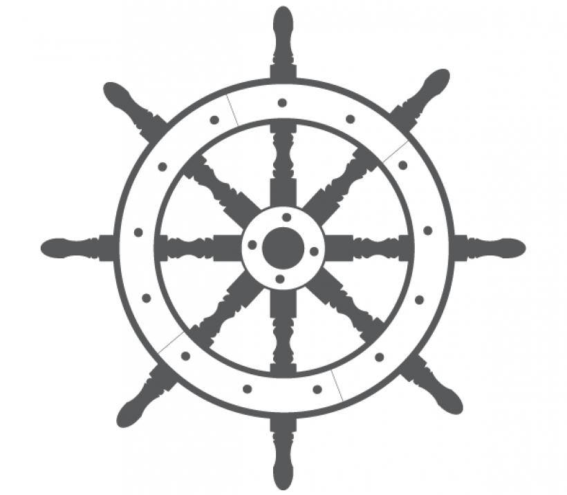 Ships Wheel PNG HD - 131734