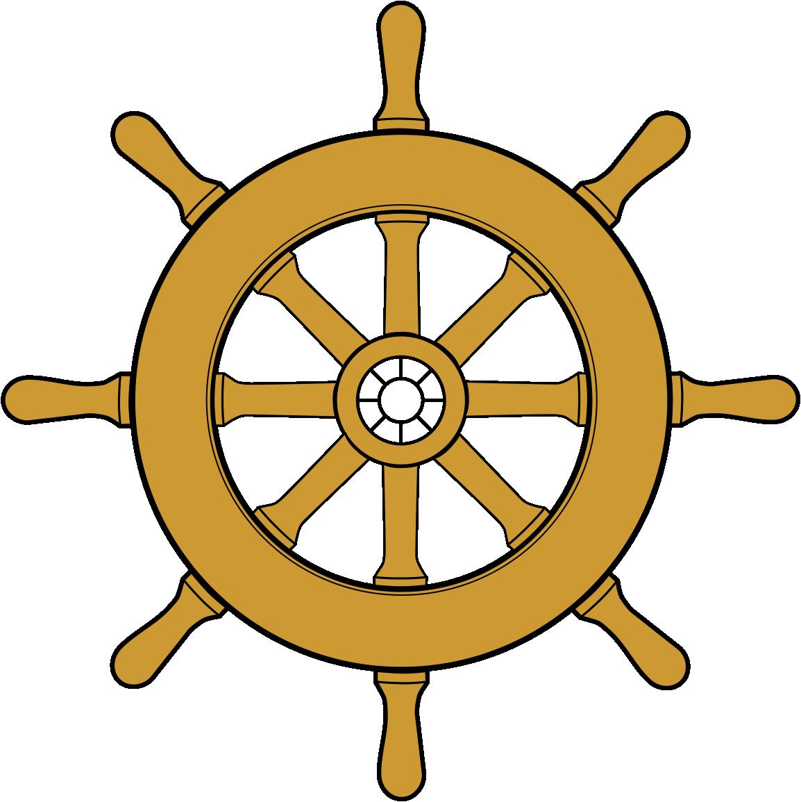 Ships Wheel PNG HD - 131731