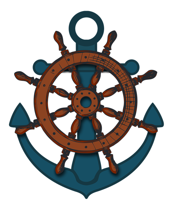Ships Wheel PNG HD