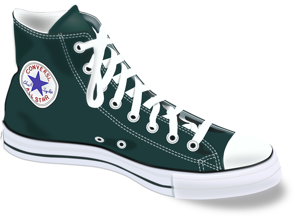 Chucks, Converse, Shoes, Footwear, Fashion, Sports - Shoe HD PNG