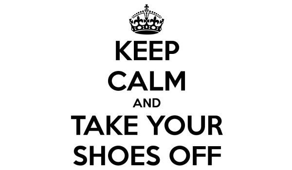 Shoes Off PNG - 77937