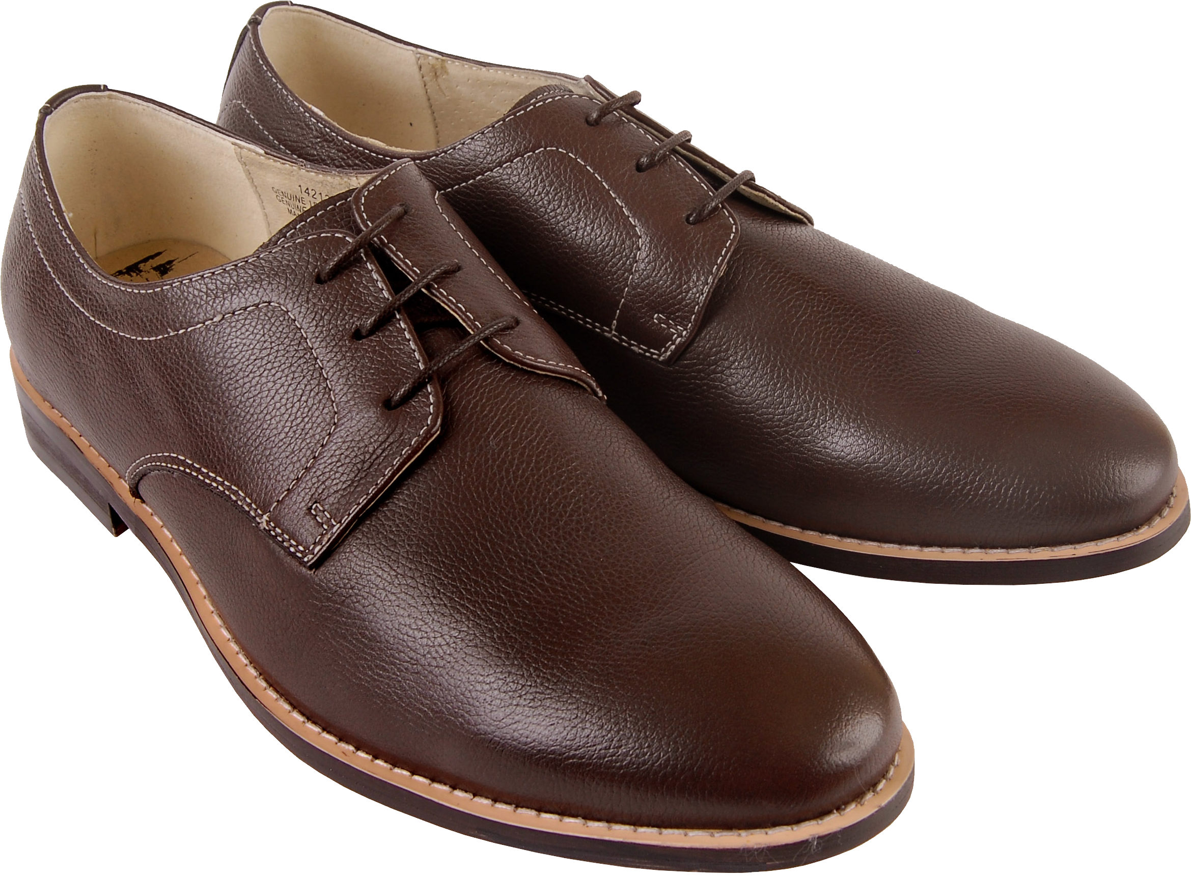 Brown men shoes PNG image - Shoes PNG