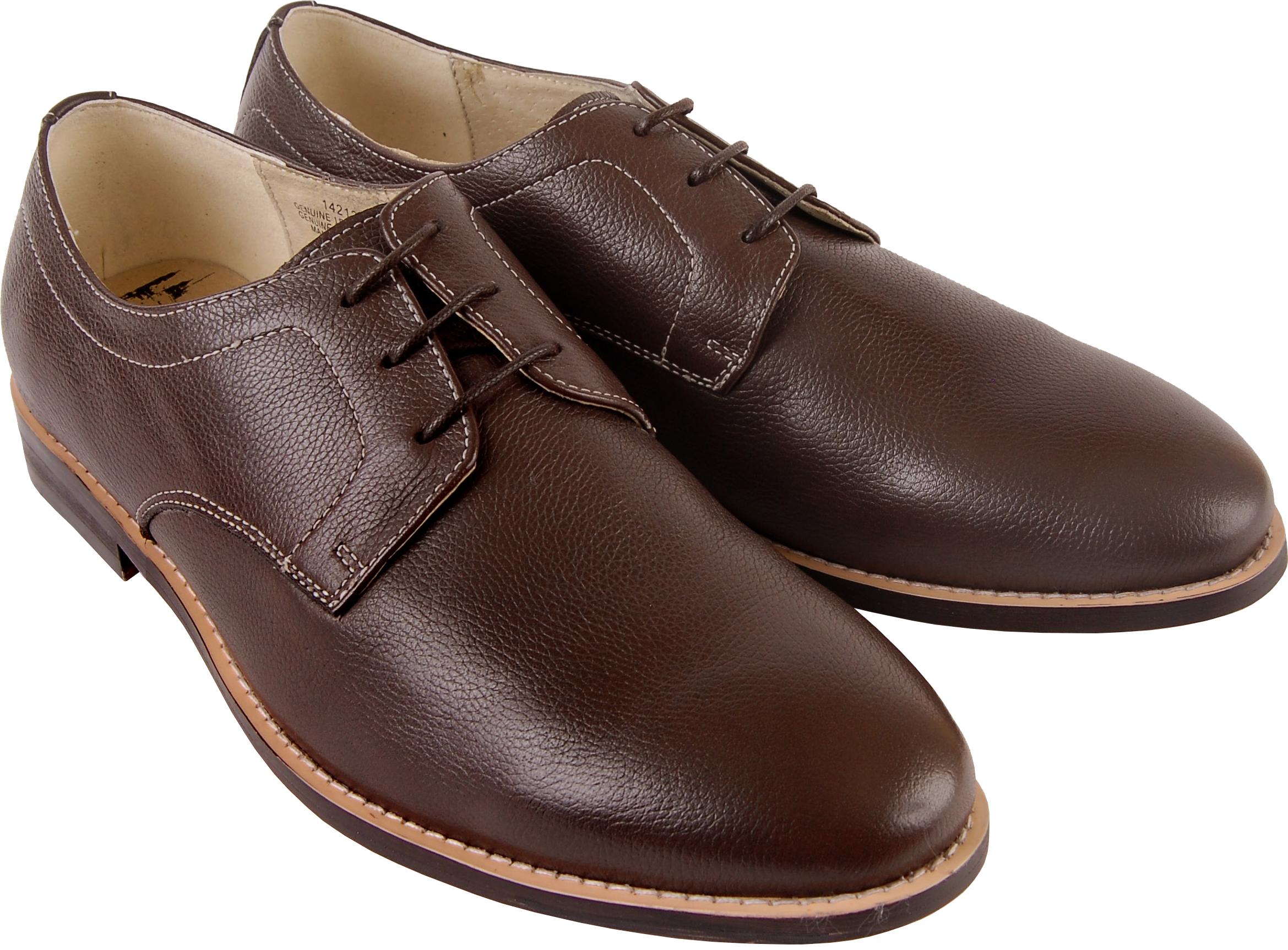 Brown men shoes PNG image - Shoes PNG