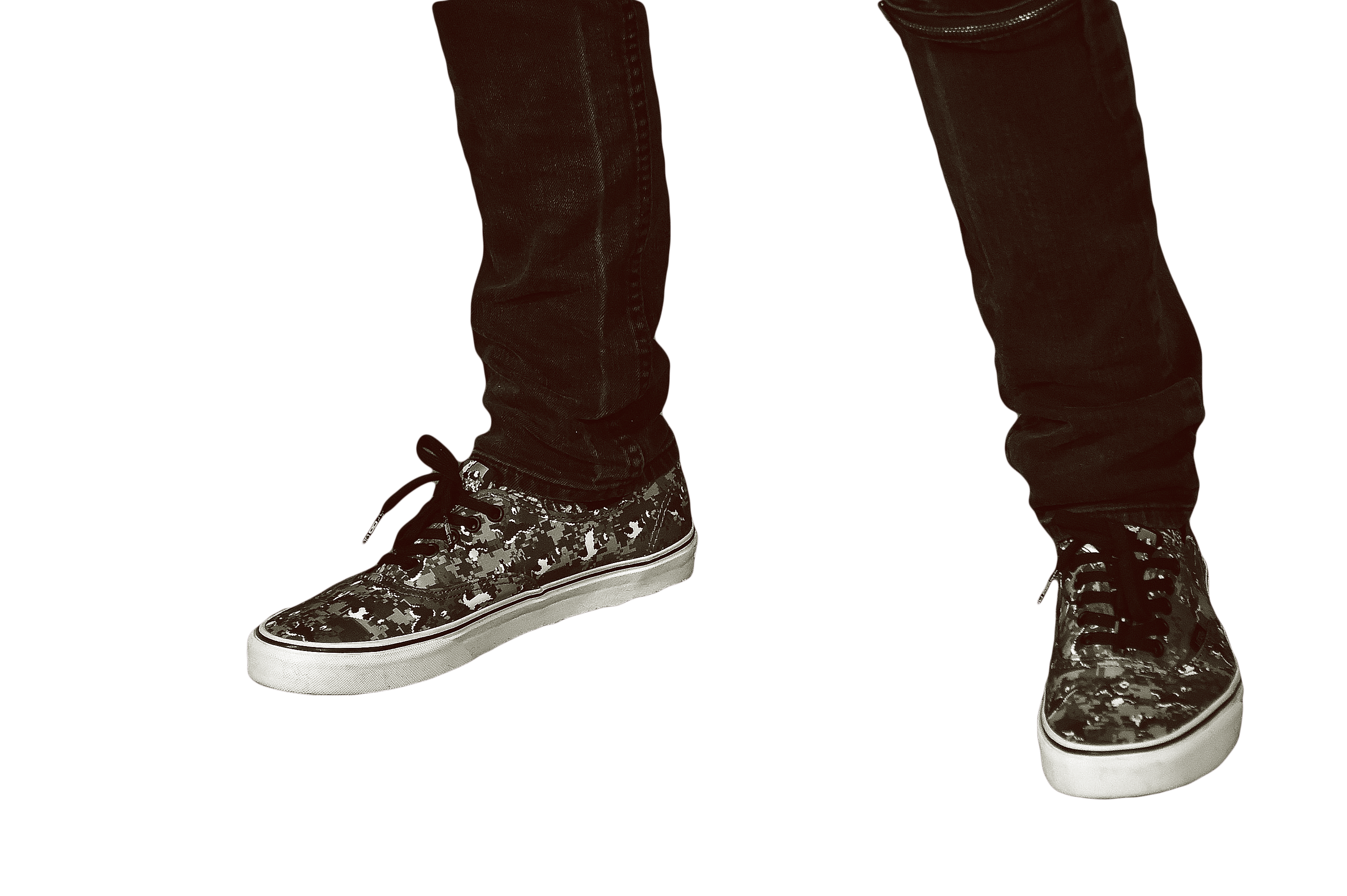 Camouflaged Shoes - Shoes PNG