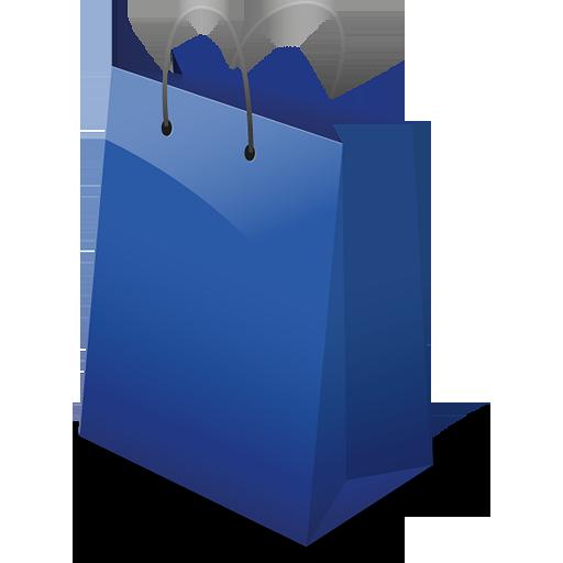 Blue Shopping Bag PNG - Shopping Bag PNG