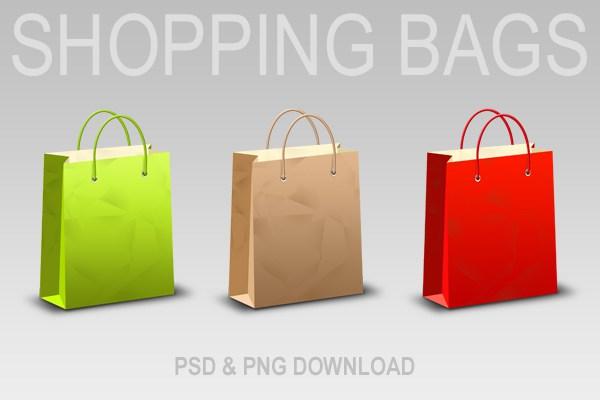 Shopping Bag PNG - 12031
