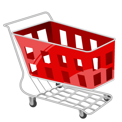 Basket, Cart, Red, Shopping Icon. Download PNG - Shopping Carts PNG