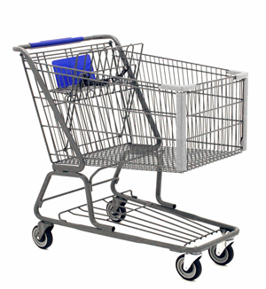 So As I Was Shopping In Winn Dixie The Other Day And I Was Pushing My Cart  Down The Vertical Lane Someone Coming Out Of The Horizontal Aisle Almost  Ran Into PlusPng.com  - Shopping Carts PNG
