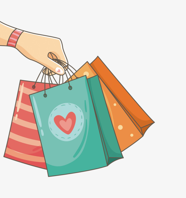 holding shopping bags, Shopping Bag, Shopping PNG Image and Clipart - Shopping PNG