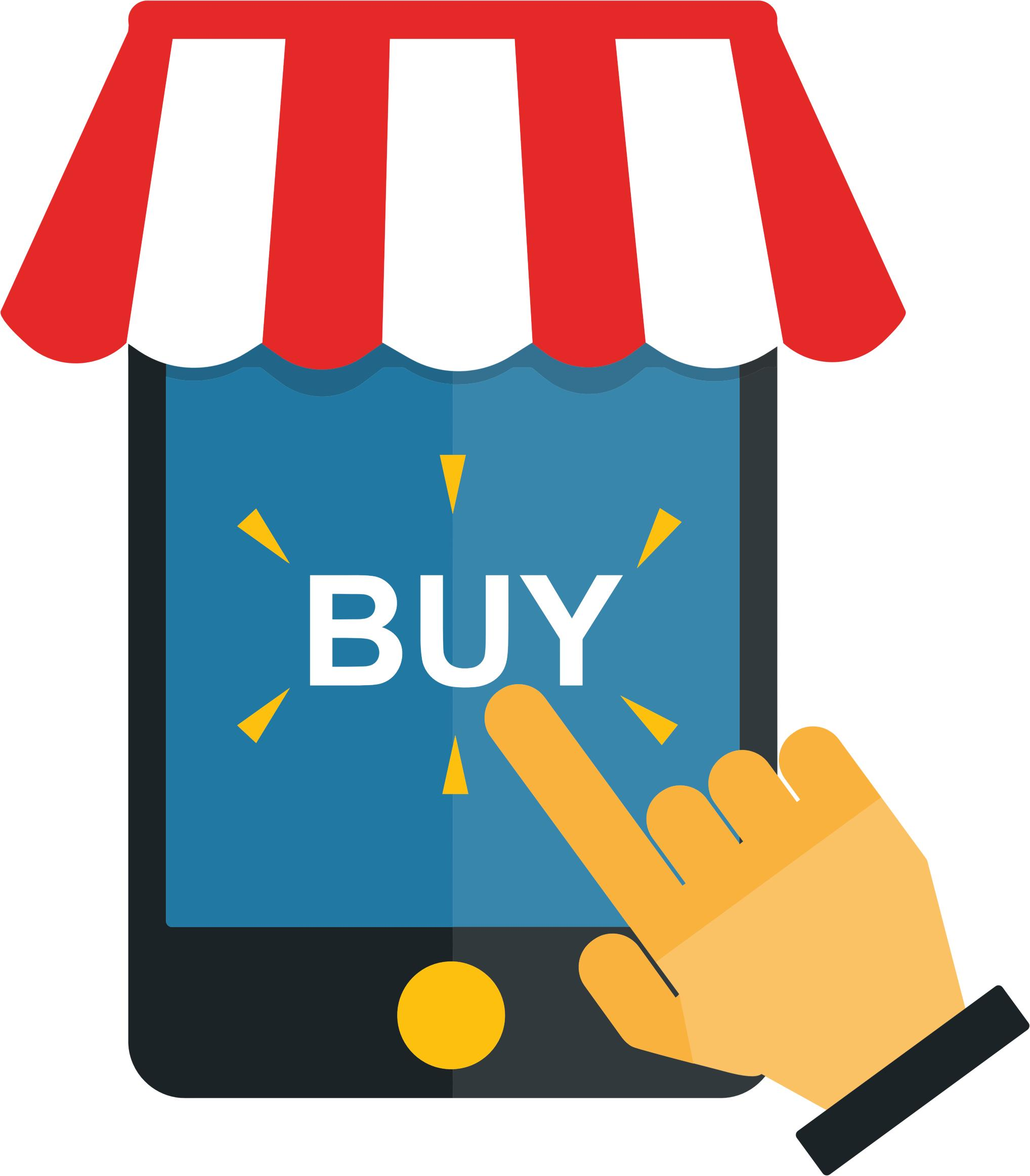 Mobile Shopping - Shopping PNG