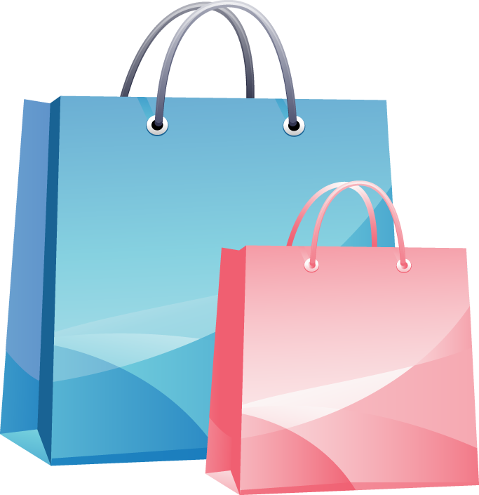 Shopping Bag Clip Art PNG
