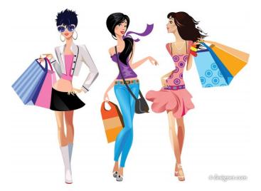 Shopping Woman Shopping Png