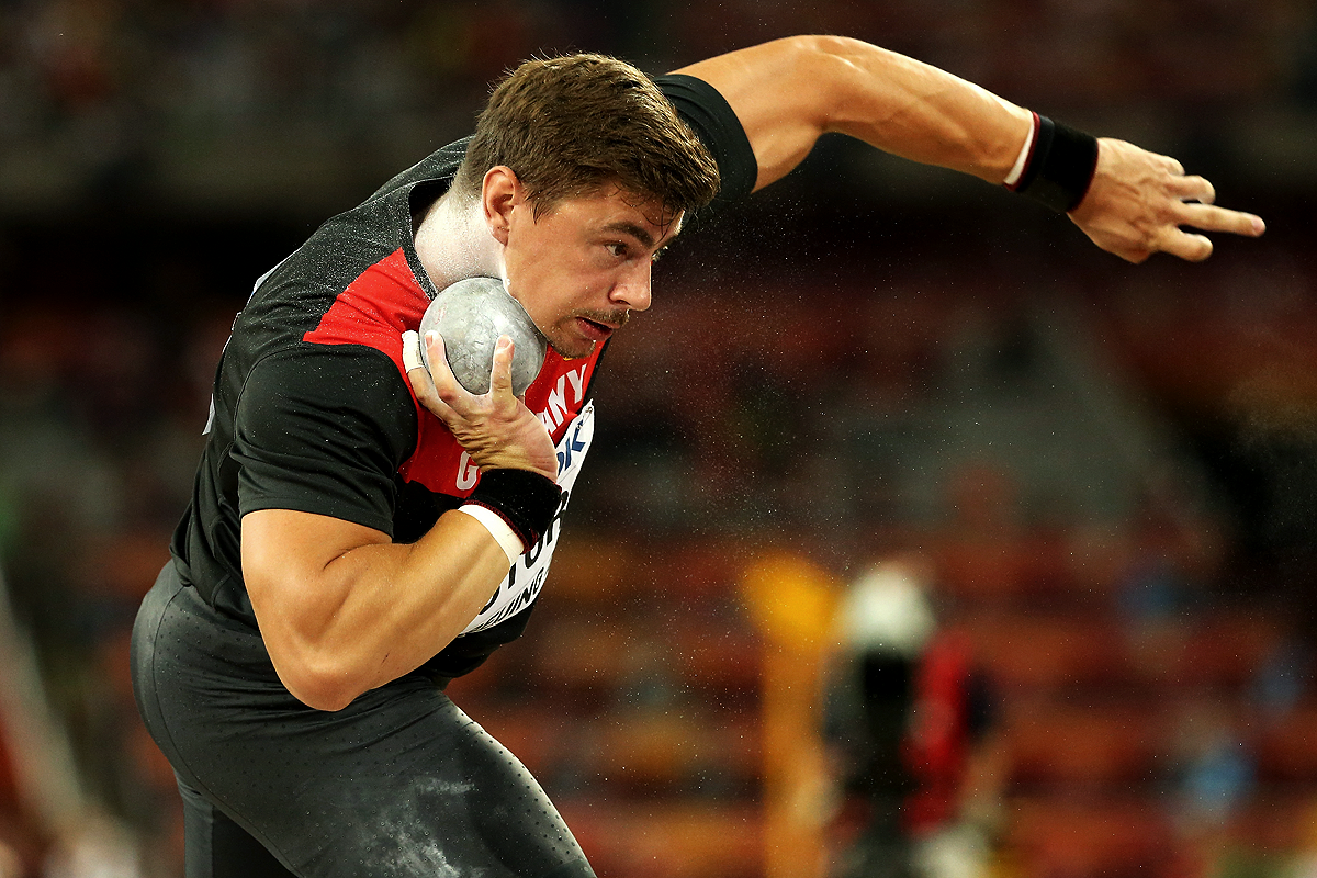 David Storl in the shot put final at the IAAF World Championships Beijing  2015 (Getty - Shot Put PNG HD