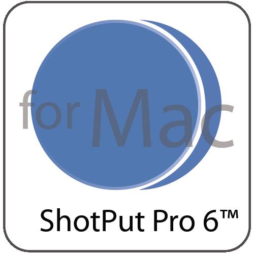SHOTPUT PRO6 FOR MACINTOSH