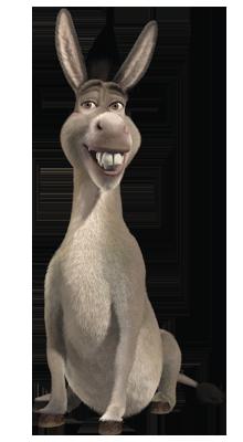 Shrek Donkey PNG