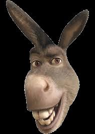 Score: 0 Catch Shrek - Shrek Donkey PNG