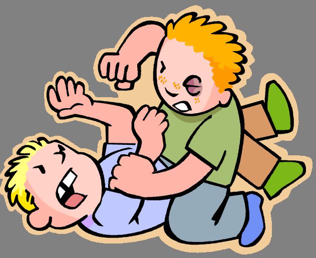 Siblings Fighting PNG