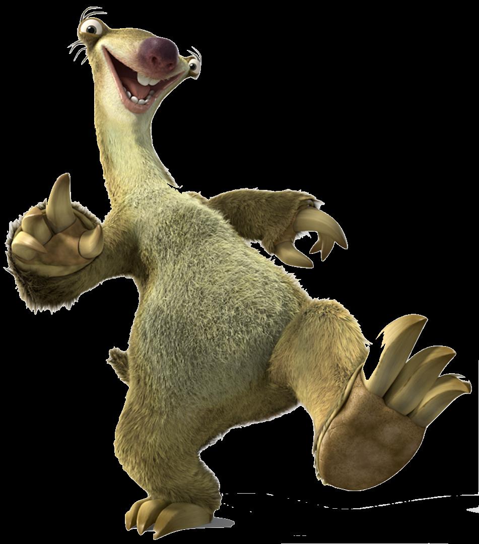 Sid Sloth.png - Sloth PNG