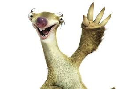 Sid the Sloth.png - Sloth PNG