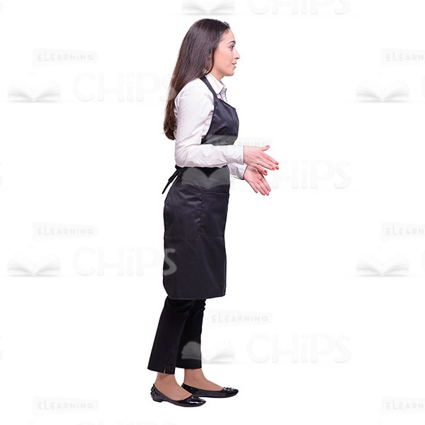 Side View Of A Person Standing PNG-PlusPNG.com-600 - Side View Of A Person Standing PNG