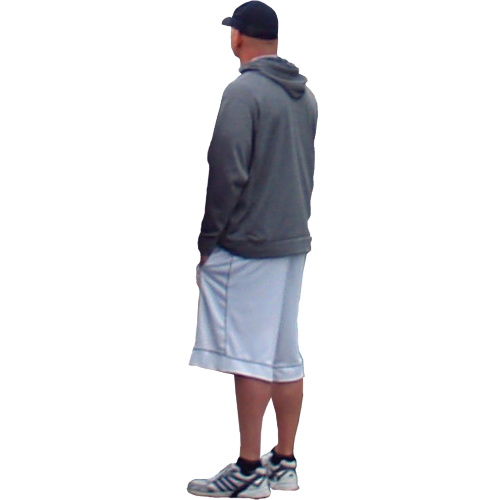 Side View Of A Person Standing PNG Transparent Side View ...