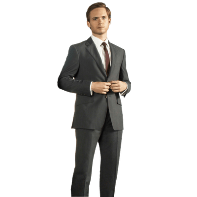 Man In Suit Standing - Side View Of A Person Standing PNG
