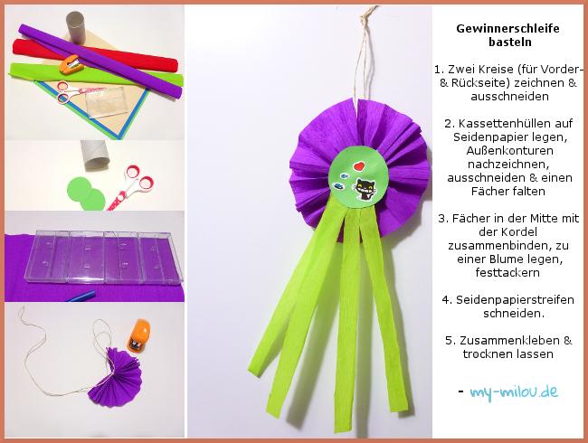 Gewinnerschleifen für Kindergeburtstage basteln. #Gewinnerschleife #Basteln  #Kindergeburtstag #Siegerschleife #kidscraft - Siegerschleife PNG