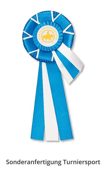 Siegerschleife für Reitturniere - Siegerschleife PNG