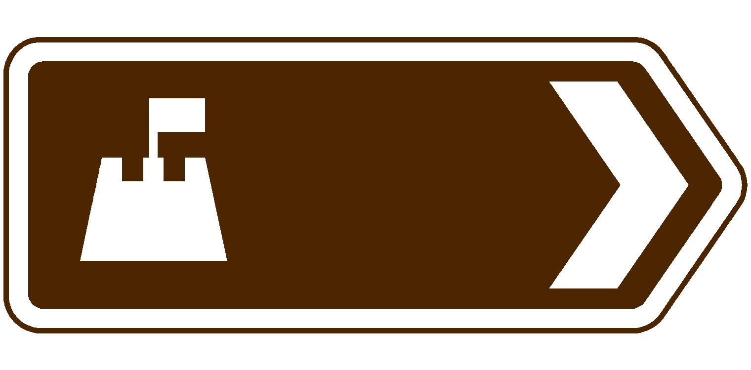 File:BEACH UK Brown sign.png - Sign PNG