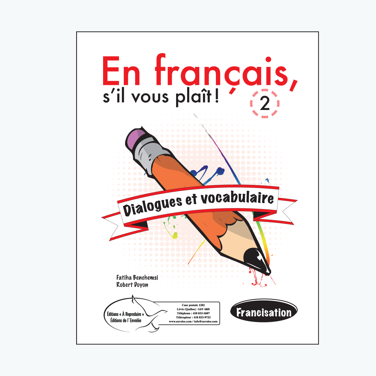 Dialogues et vocabulaire 2 En français, su0027il vous plaît ! Dialogues et  vocabulaire 2 - Sil Vous Plait PNG