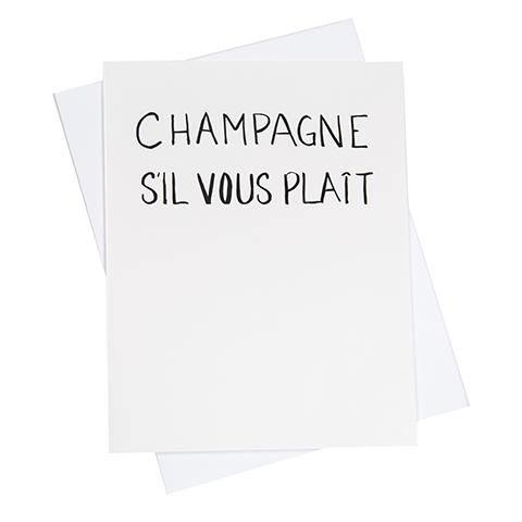 Su0027il Vous Plait Greeting Card (18094) - Sil Vous Plait PNG