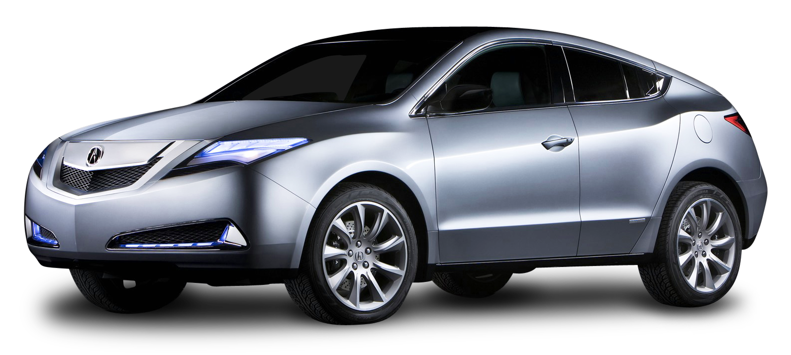 Silver Acura MDX Prototype Car PNG Image - Acura PNG