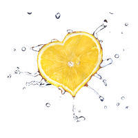 Similar Fruit Water Splash PNG Image
