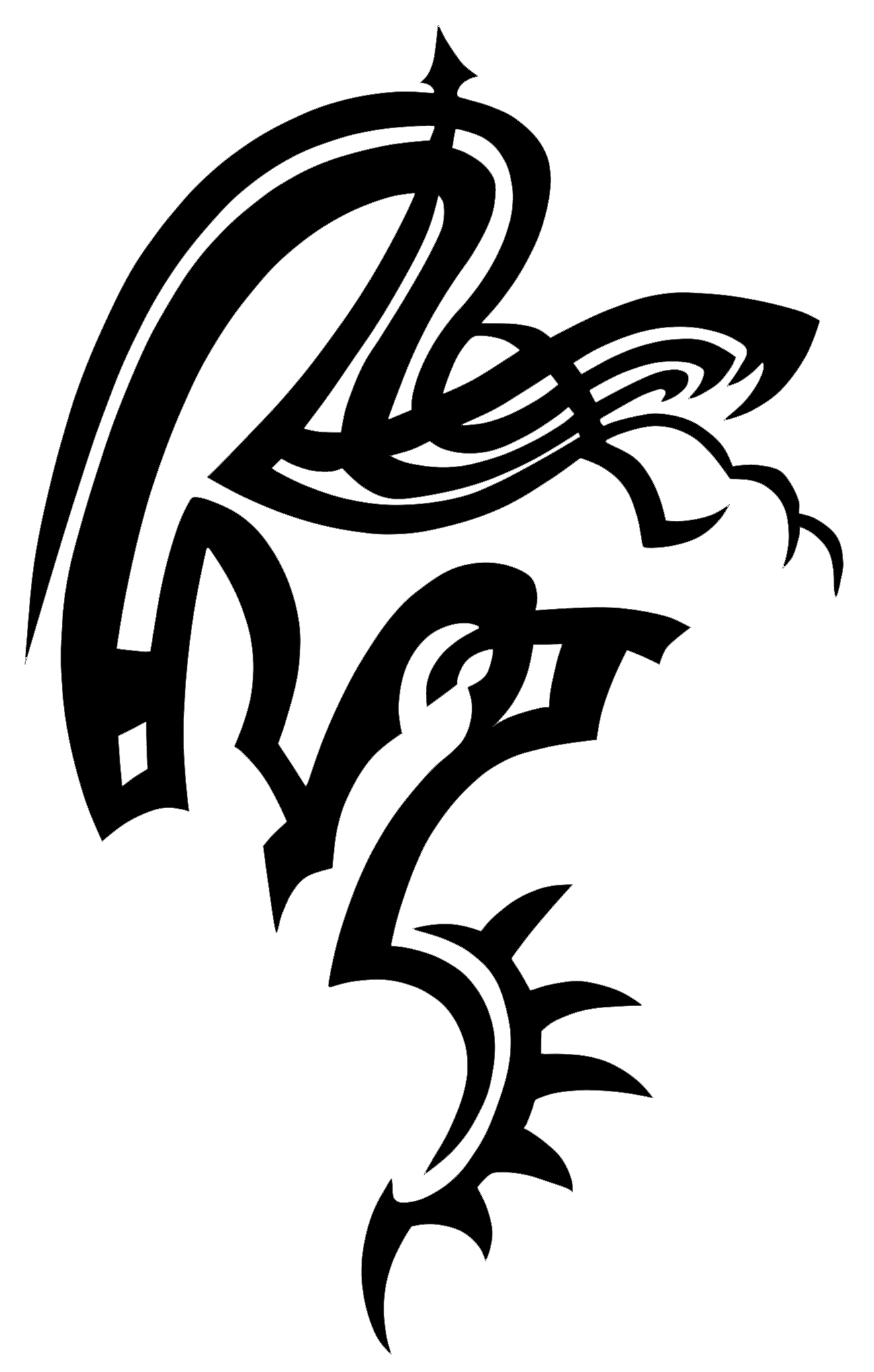 Snake Tattoo PNG - 3602