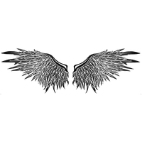 Wings Tattoos PNG - 4617