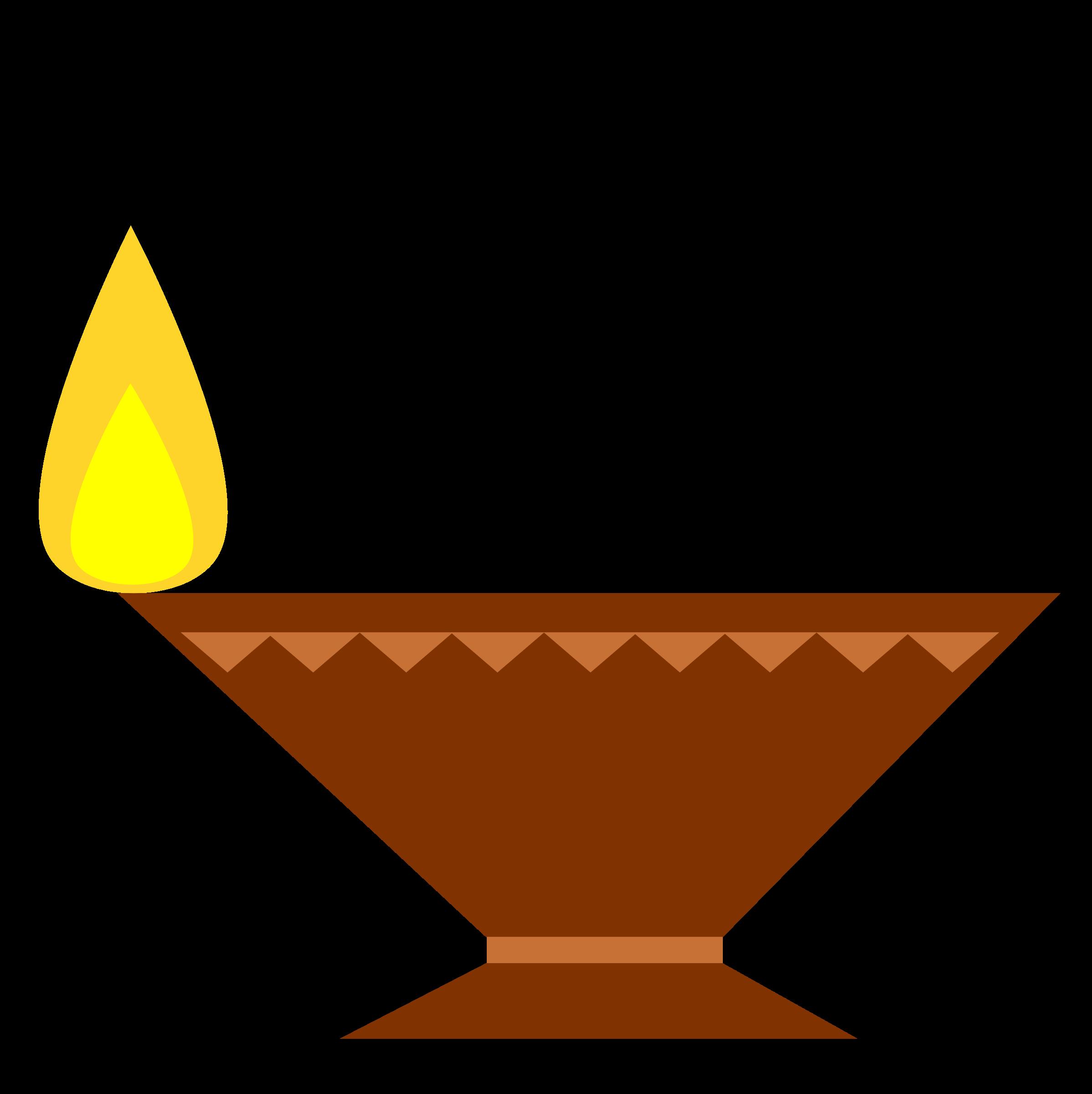 Clipart - Simple Diya PNG