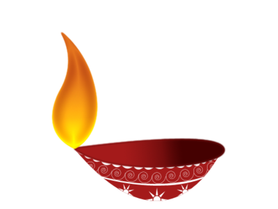 Hanging Diya Clipart Png - Simple Diya PNG