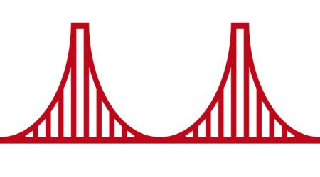 1984 u2013 Golden Gate Bridge | San FranCISCO - Simple Golden Gate Bridge PNG