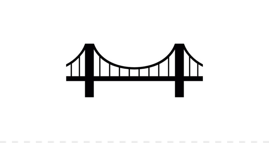 Golden Gate Bridge Simple suspension bridge Clip art - Simple Bridge  Cliparts - Simple Golden Gate Bridge PNG