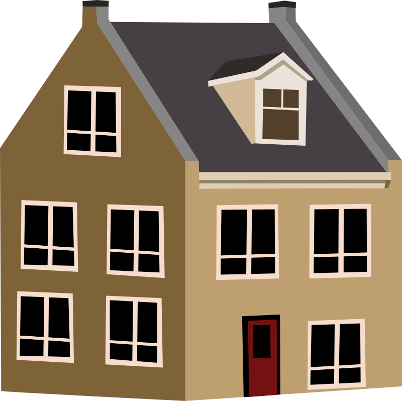 Simple House PNG HD - 125046