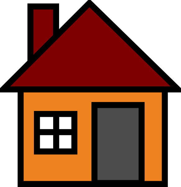 Simple House PNG HD - 125047