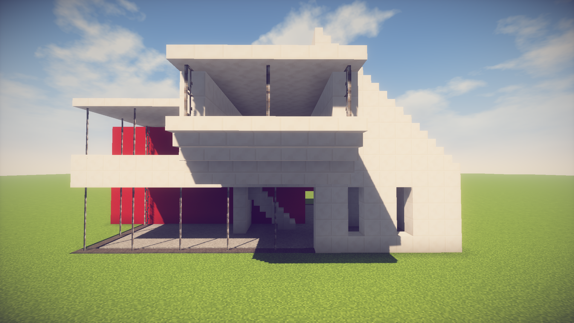 Minecraft: Simple/Easy Modern House - Easy Minecraft House Tutorial - Album  on Imgur - Simple House PNG HD