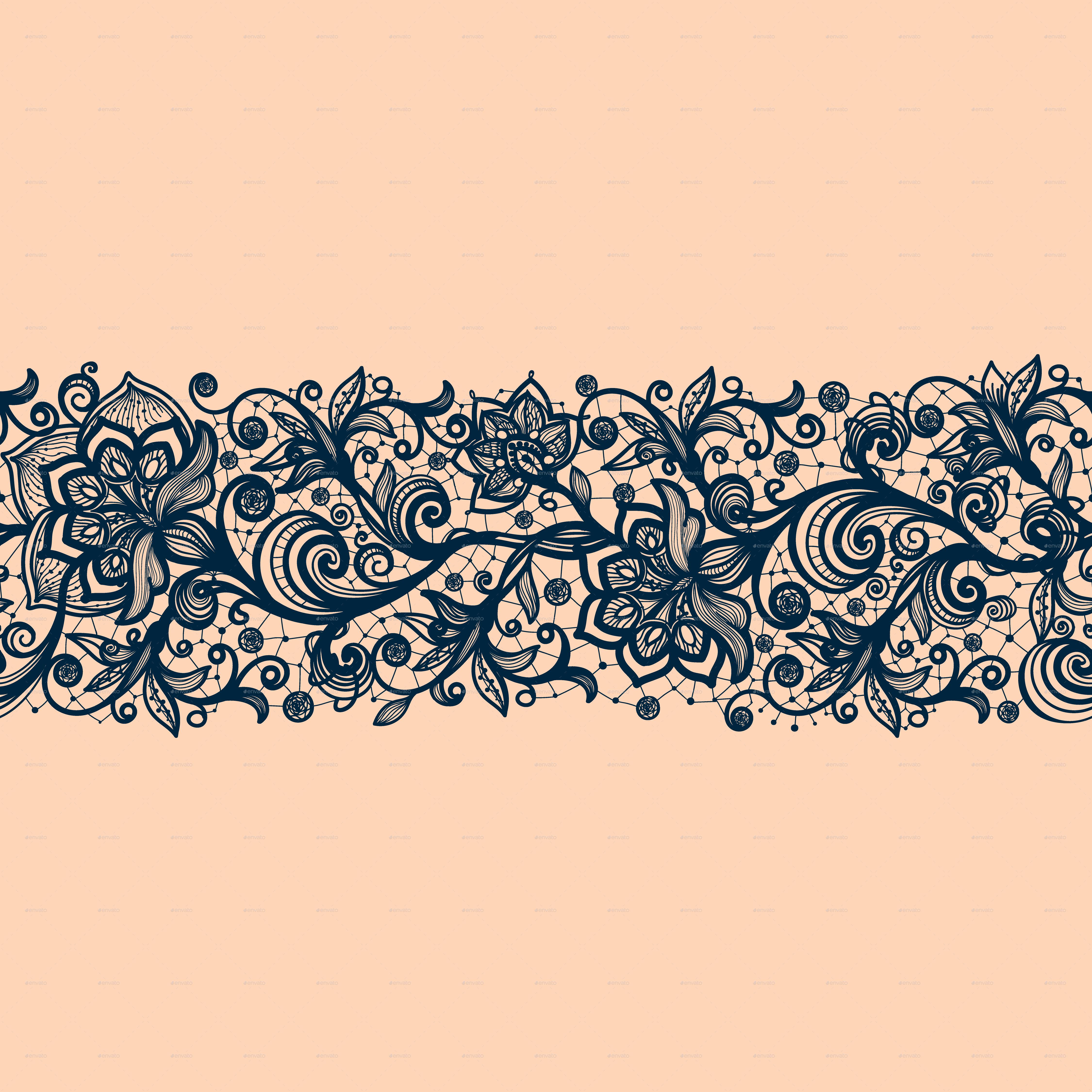 25_1.png 25_2.jpg PlusPng.com  - Simple Lace Patterns PNG