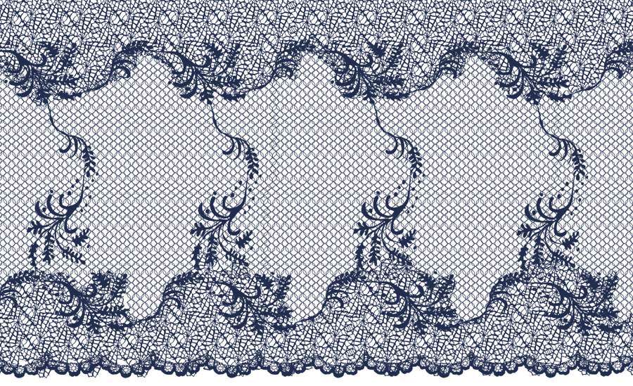 Intricate Lace Pattern By Anomalies13 PlusPng.com  - Simple Lace Patterns PNG