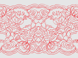Lace Pattern - Simple Lace Patterns PNG