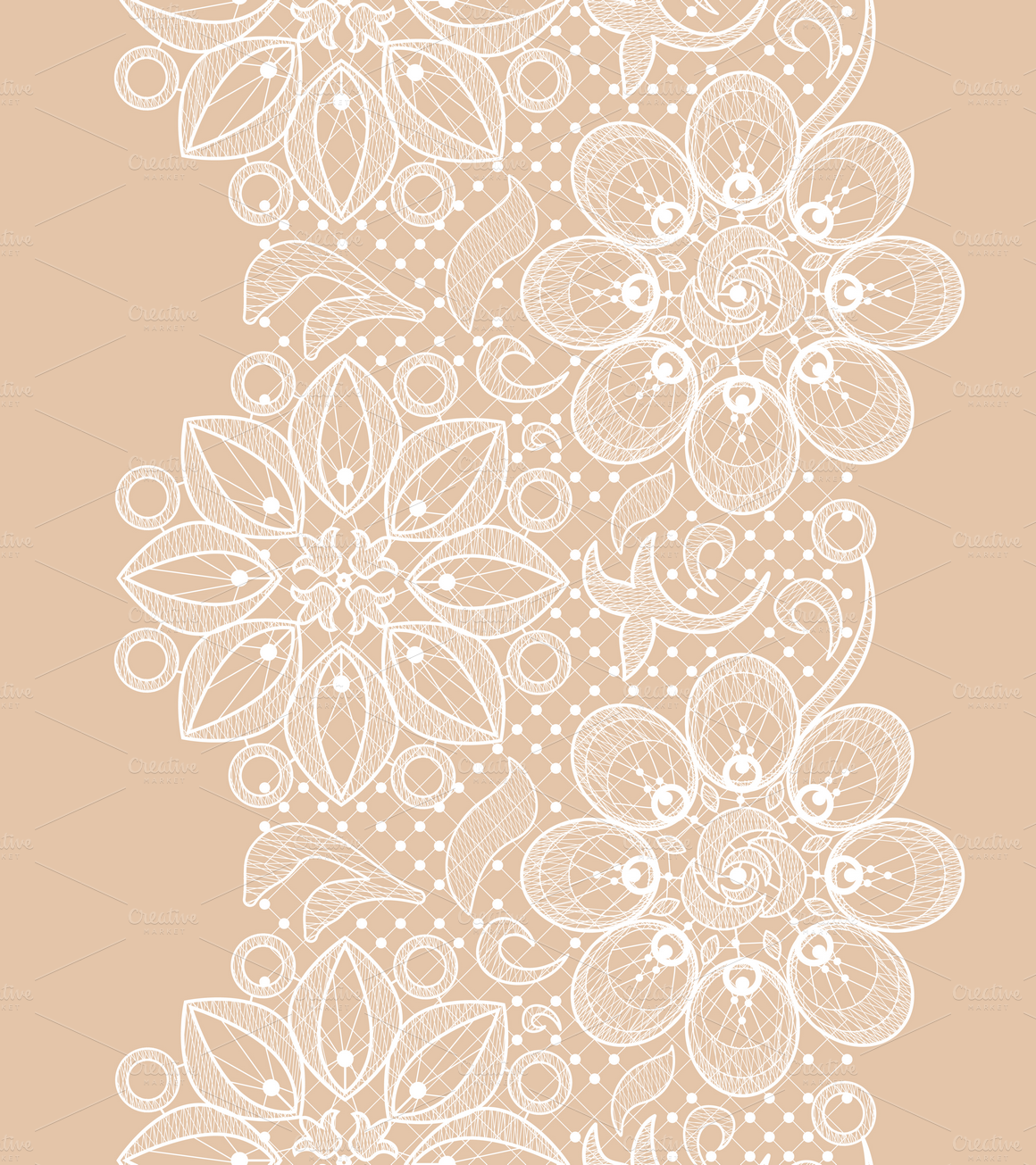 Seamless Lace Texture Designs - Simple Lace Patterns PNG