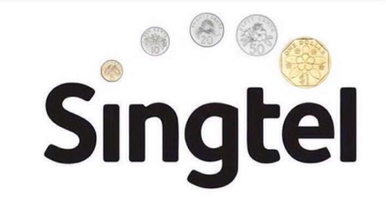 20 Local Logos Re-imagined In The Style Of The New Singtel Logo U2013  Mothership.SG - Singtel Logo PNG