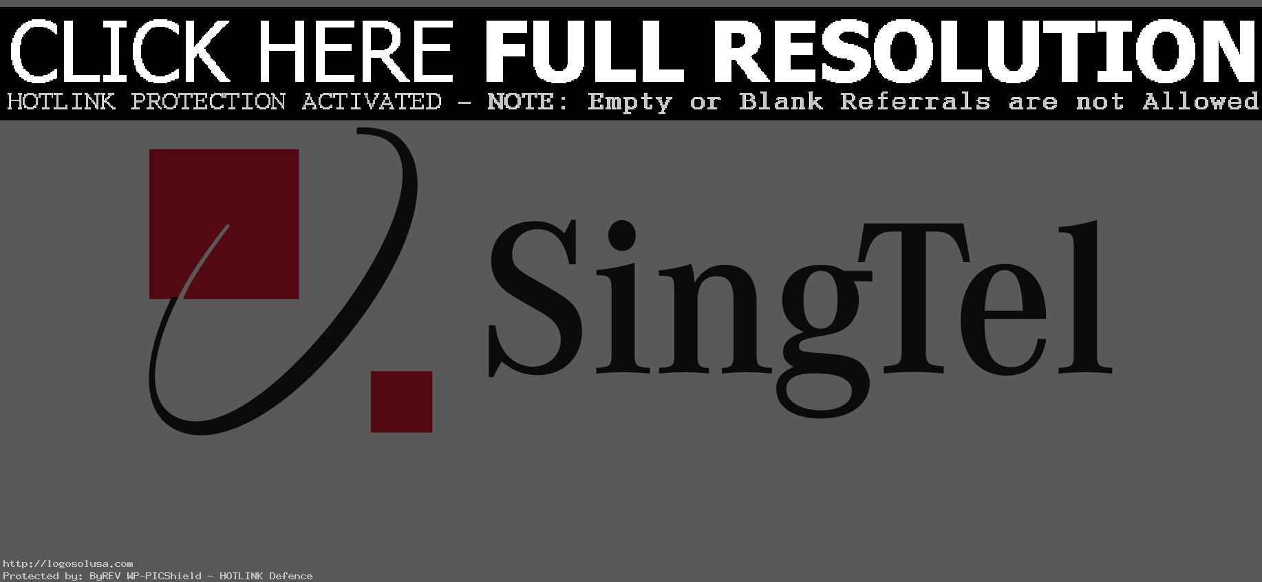 Download SingTel Logo - Singtel Logo PNG