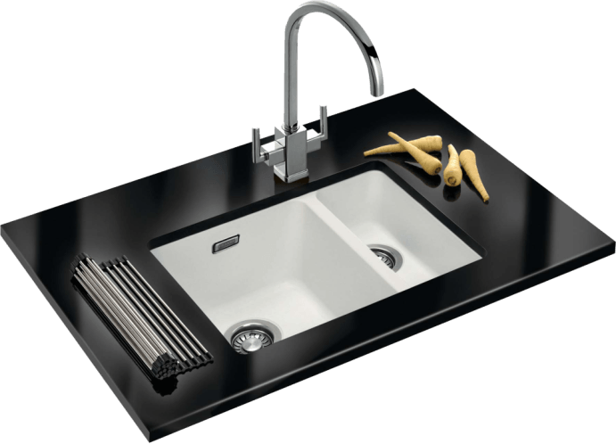 Granite Composite Kitchen Sinks - Sink PNG HD