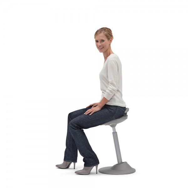 Muvman - Active Sit Stand Seating - Sit At Desk PNG